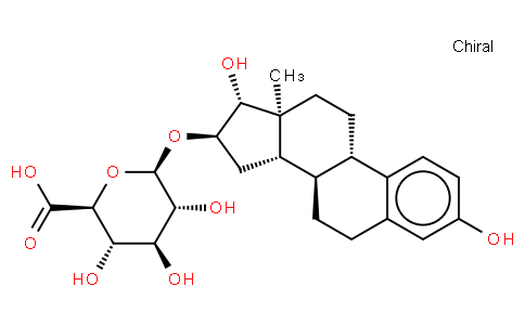 Estriol-16beta-D-glucopyranosiduronic acid