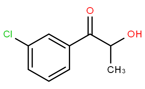 1-(3-chlorophenyl)-2-hydroxypropan-1-one