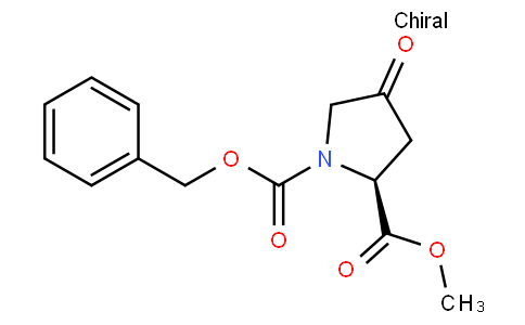 1-O-benzyl 2-O-methyl (2S)-4-oxopyrrolidine-1,2-dicarboxylate