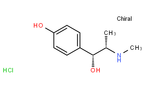 (R*,S*)-4-hydroxy-α-[1-(methylamino)ethyl]benzyl alcohol hydrochloride