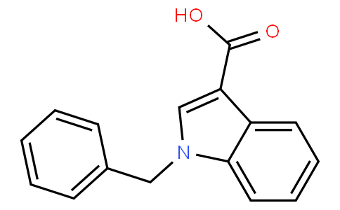 1-BENZYLINDOLE-3-CARBOXYLIC ACID