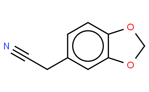3,4-(Methylenedioxy)phenylacetonitrile