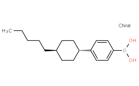 4-(TRANS-4-PENTYLCYCLOHEXYL) PHENYL BORONIC ACID
