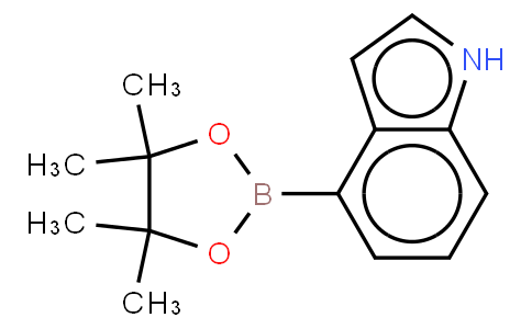 Indole-4-boronic acid, pinacol ester