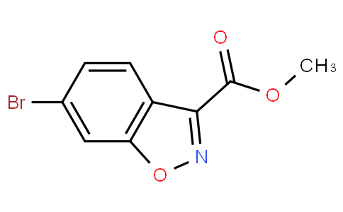 Methyl 6-bromobenzo[d]isoxazole-3-carboxylate