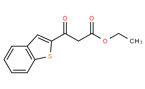 ethyl 3-(1-benzothiophen-2-yl)-3-oxopropanoate
