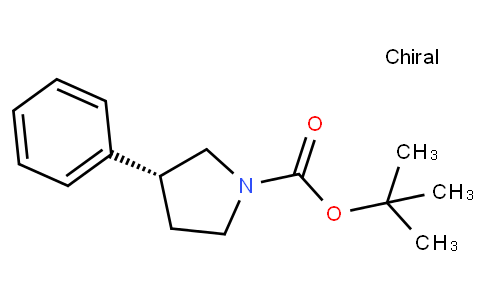 tert-butyl (3R)-3-phenylpyrrolidine-1-carboxylate