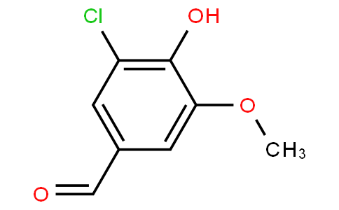 3-chloro-4-hydroxy-5-methoxybenzaldehyde