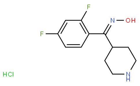 (2,4-Difluorophenyl)-4-piperidylmethanone Oxime Hydrochloride