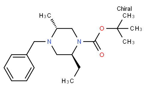 (2S,5R)-tert-butyl 4-benzyl-2-ethyl-5-Methylpiperazine-1-carboxylate