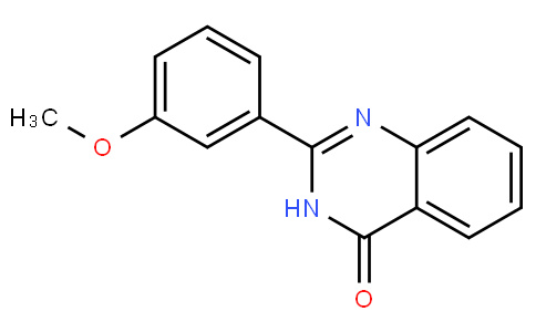 2-(3-methoxyphenyl)quinazolin-4(3H)-one