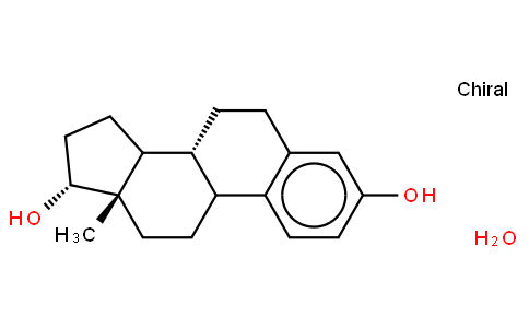 (8R,9S,13S,14S,17S)-13-methyl-6,7,8,9,11,12,14,15,16,17-decahydrocyclopenta[a]phenanthrene-3,17-diol,hydrate