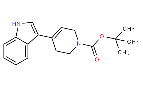 tert-butyl 4-(1H-indol-3-yl)-3,6-dihydro-2H-pyridine-1-carboxylate