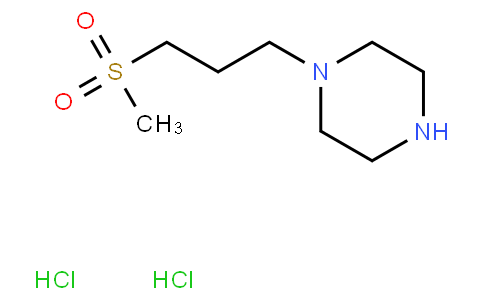 1-(3-METHANESULFONYLPROPYL)-PIPERAZINE 2HCL
