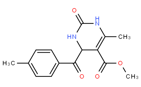 Methyl 6-methyl-4-(4-methylbenzoyl)-2-oxo-1,2,3,4-tetrahydropyrimidine-5-carboxylate
