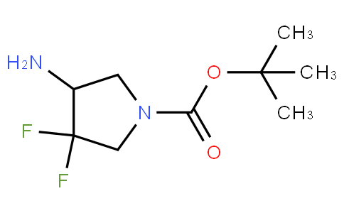 tert-butyl 4-amino-3,3-difluoropyrrolidine-1-carboxylate
