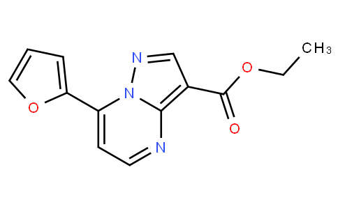 ETHYL 7-(FURAN-2-YL)PYRAZOLO[1,5-A]PYRIMIDINE-3-CARBOXYLATE
