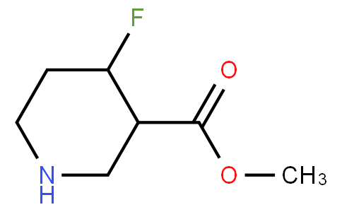 methyl 4-fluoropiperidine-3-carboxylate