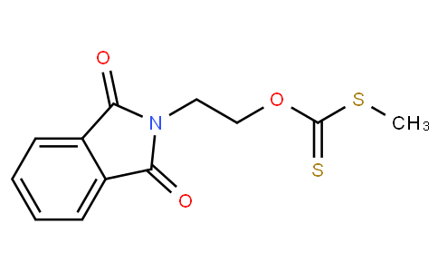 O-2-(1,3-dioxoisoindolin-2-yl)ethyl S-methyl carbonodithioate