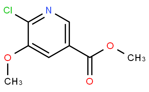 Methyl 6-chloro-5-methoxynicotinate