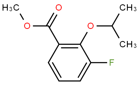 3-Fluoro-2-(1-methylethoxy)-benzoic acid methyl ester