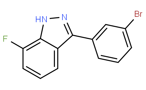 7-Fluoro-3-(3-bromophenyl)-1H-indazole