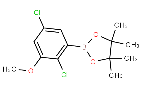 2-(2,5-Dichloro-3-methoxyphenyl)-4,4,5,5-tetramethyl-1,3,2-dioxaborolane